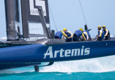 Artemis Racing has reached the final of the Louis Vuitton Cup