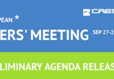 CAESES European Users' Meeting: Agenda