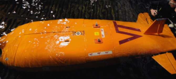 FRIENDSHIP SYSTEMS Sponsors the Human Powered Submarine Team of Virgina Tech