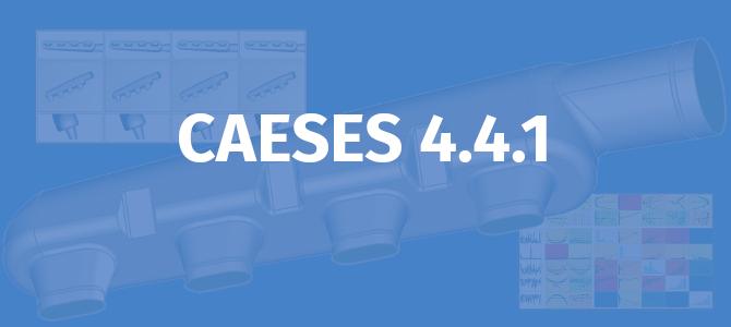 Released: CAESES 4.4.1